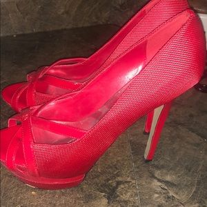 Bakers high heels 👠 Red size 7.5 🔥🔥